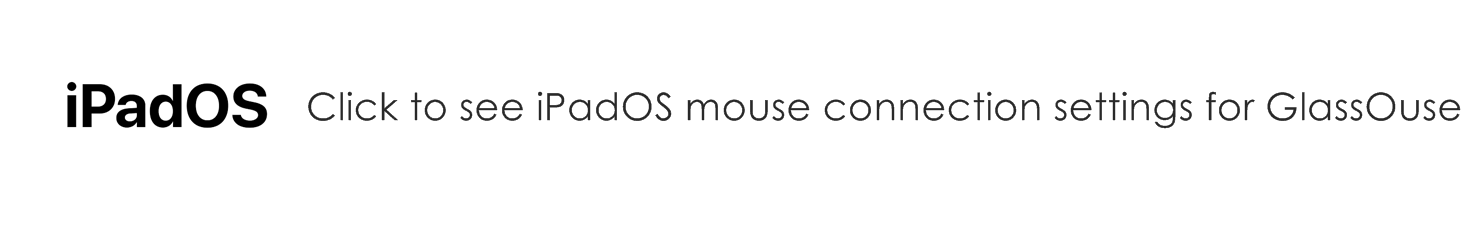 ipados glassouse connection